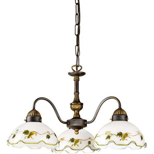 14-kolarz - Eleganter NONNA 3-Licht Kerzenhalter aus antikem Messing