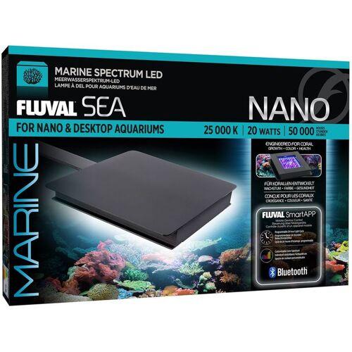 FLUVAL Nano Marine LED 12,7x12,7cm Aquariumlampe Sonnenaufgang u.v.m. Handy