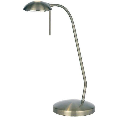 04-ENDON Hackney Lampe, antikes Messing