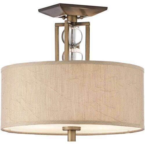 02-elstead - Himmlische Deckenlampe, Bronze und Kristall