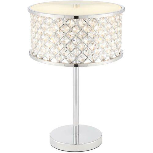 04-endon - Hudson Lampe, Chrom und Kristall