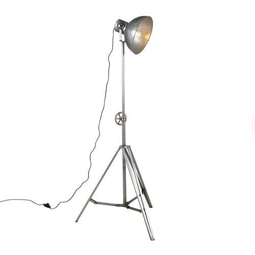 QAZQA Industrielle Stehlampe Stahl - Samia Sabo