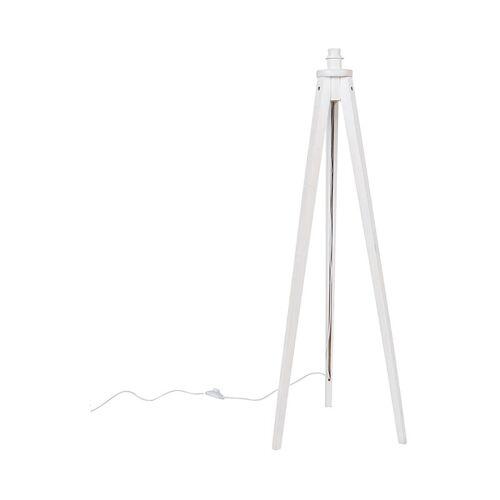 QAZQA Land Stehlampe Stativ weiß - Stativ Classic