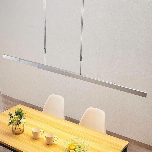 LUCANDE LED-Balkenpendelleuchte Merrit mit Touchdimmer