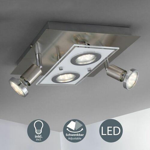 B.K.LICHT Deckenleuchte LED Spot Decken-Strahler Flur Wohnzimmer Schlafzimmer