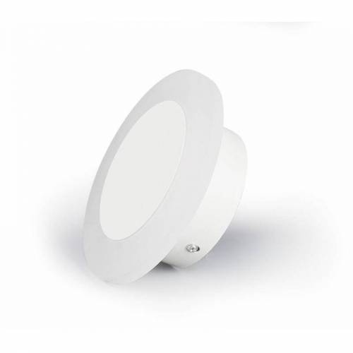 PURLINE Led-Wandlampe Weiß/Glas