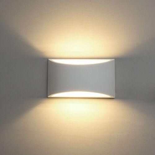 STOEX LED Wandleuchte Moderne Gips Wandleuchte 5W Warmweiß für Wohnzimmer
