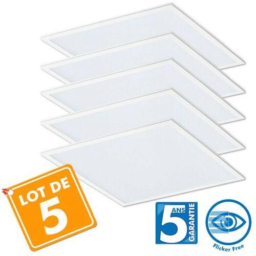Eclairage Design - Lot von 5 Pro LED Fliesen 40W - 5 Jahre 60x60cm