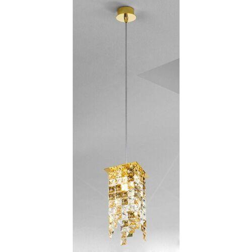 14-kolarz - Moderne 24 Karat Gold PRISMA Kristall Pendelleuchte 1