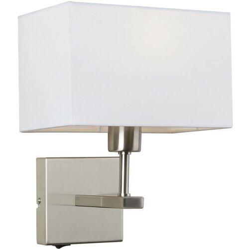 11-ITALUX Moderne Nachttischlampe Norte Nickel