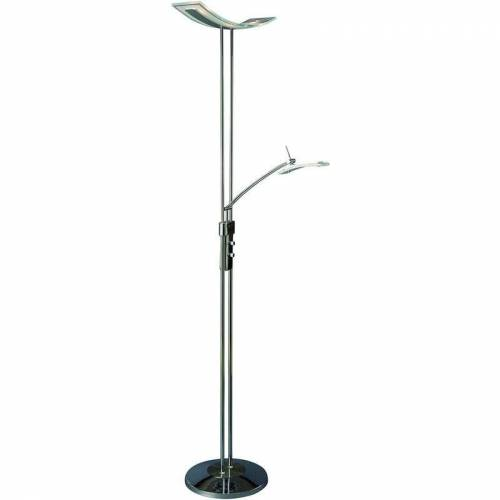 11-italux - Moderne Stehlampe Celia Chrome