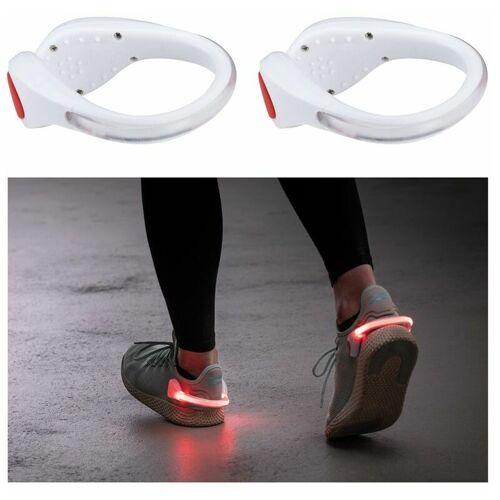 PAULMANN Beleuchtete Schuhclips Weiß mit LED-Beleuchtung in Rot
