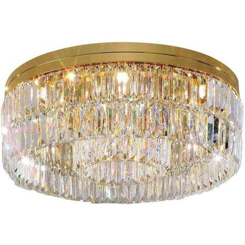 14-kolarz - Design Deckenleuchte in PRISMA 24-Karat Gold Kristall 12