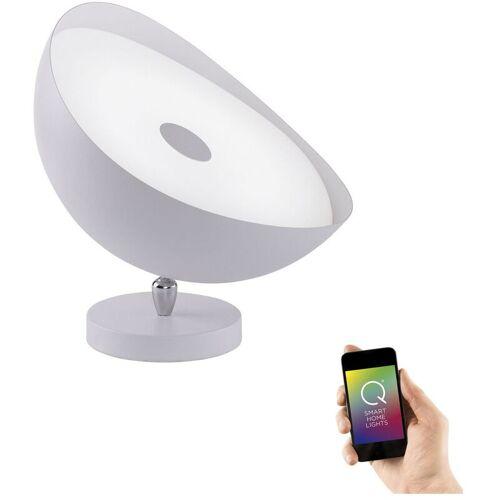 Q-SMART LED Tisch- und Deckenleuchte Q-Alexis in Weiß, 350 mm RGBW - Q-smart