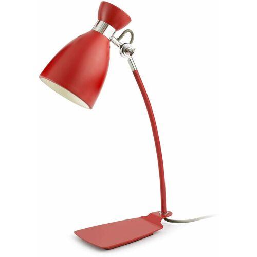 08-FARO Retro 1-Licht rote Tischlampe