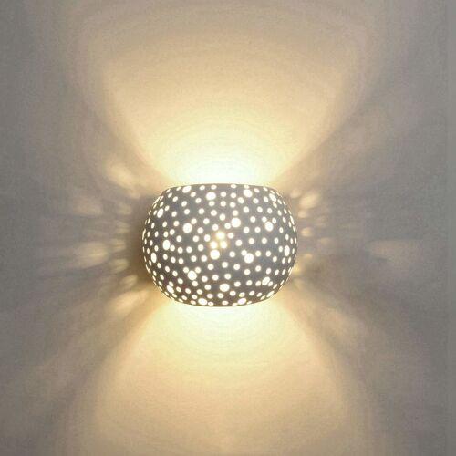 STOEX Runde Kugelform Wandleuchte LED Innenputz Wandlampe Modernes Design 5W