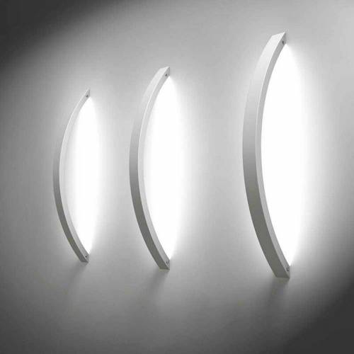 s.LUCE Ring L indirekte LED-Wandleuchte 66cm