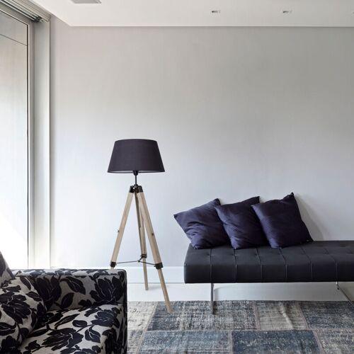 WYCTIN Stehlampe Tripod Schlafzimmer Standleuchte Wohnzimmerlampe für