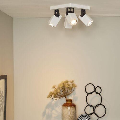 LUCIDE Vierflammiger Leuchtenspot Roax, inkl. LED