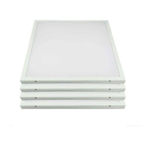 Etc-shop - 4x LED Decken Ein Aufbau Raster Panel Wohn Zimmer