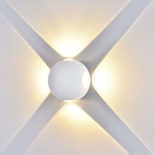 STOEX 4W Moderne LED Wandleuchte Aluminium Wandleuchte Glas Kugel Wandleuchte