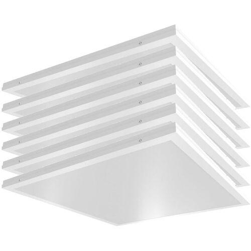 Etc-shop - 6x LED Decken Ein Aufbau Raster Panel Wohn Zimmer