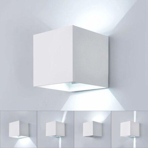 Stoex - 7W Led Wandlampe Aluminium Kronleuchter Moderne Wandleuchte