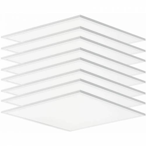 Etc-shop - 8x LED 40W LED Panel Decken Strahler ALU Einbau Lampen Wohn