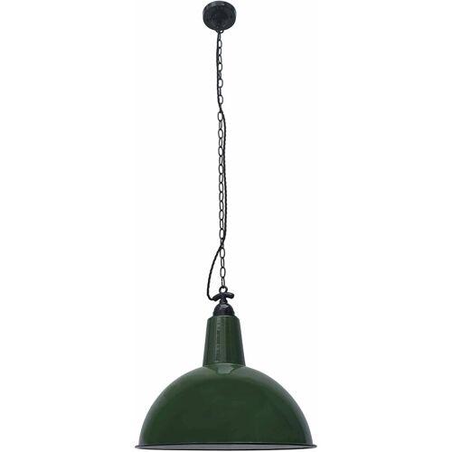 08-FARO Lou 1 Glühbirne grüne Pendelleuchte