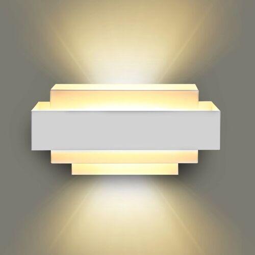 STOEX Aluminium Moderne Wandleuchte Innen Wandleuchte 10W LED Wandleuchte