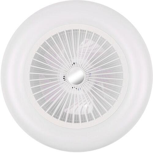 ASUPERMALL Deckenventilatoren Mit Beleuchtung Led-Lampe, 36W 200-240V, Wei?