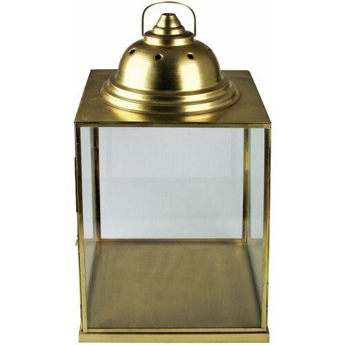 PFLANZEN KÖLLE Laterne, gold, 50 x 26 x 26 cm