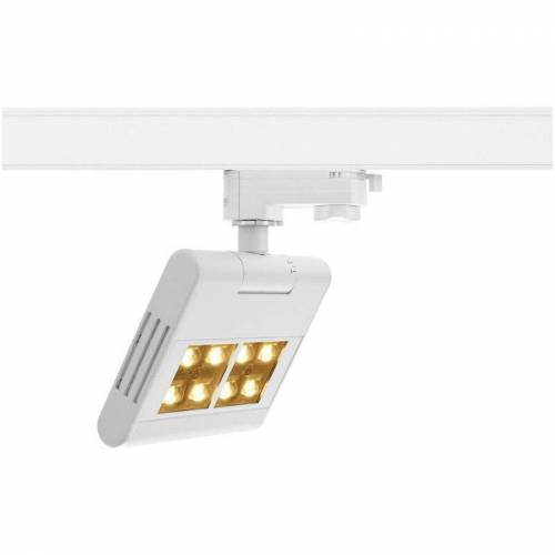 SLV - LED 3-Phasen Schienensystem Strahler Lenito Track in Weiß 23W