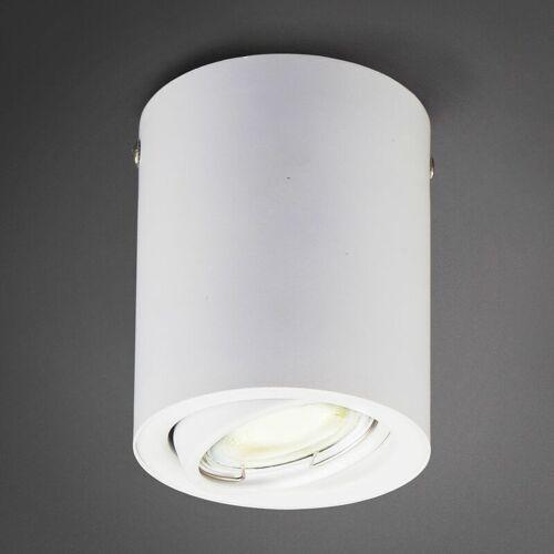 B.K.LICHT LED Aufbau-Leuchte GU10 weiß Aufputz-Strahler Decken-Spot