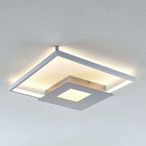 LINDBY LED-Deckenlampe Anays, eckig, 42 cm