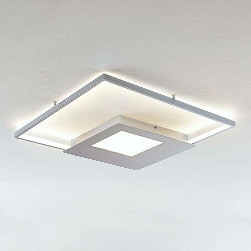LINDBY LED-Deckenlampe Anays, eckig, 62 cm