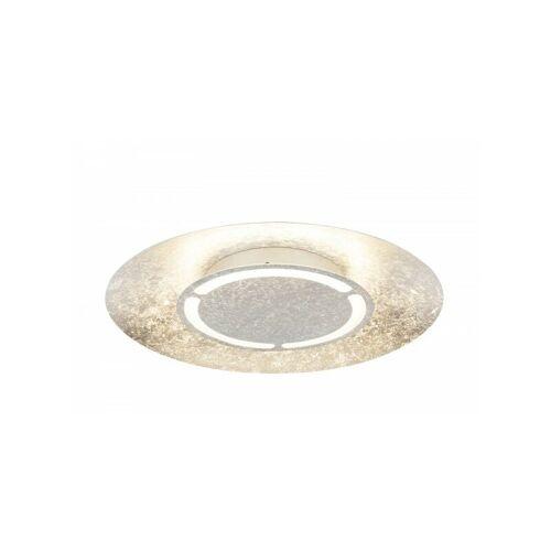 GLOBO LED-Deckenlampe Deckenlampe silber-metallic rund 3000K