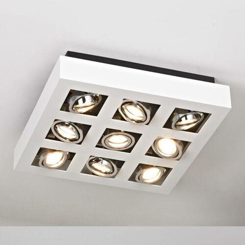 ARCCHIO Hell leuchtende LED-Deckenleuchte Vince, 9-flammig