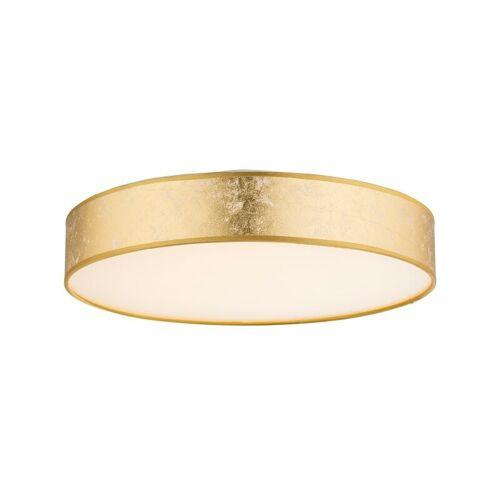 GLOBO Paco Deckenlampe Deckenleuchte Textil gold 40 cm 15187D2-'59781432'