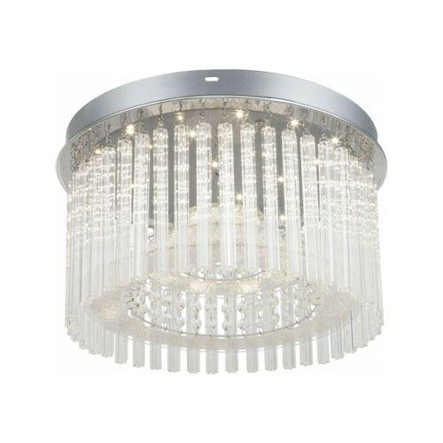 GLOBO LED Deckenlampe Deckenleuchte Flur-Leuchte Kristalle