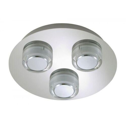 BRILONER LED Deckenleuchte Wandlampe 3x 5 W Badleuchte Surf 2257-038 - Briloner