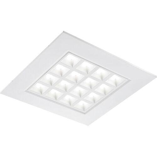 LAMPENWELT LED-Einbau-Panel Merti in Weiß, 4.000 K