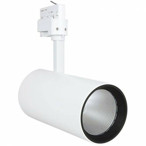 LEDVANCE LED-Strahler 55W 4000K 4200lm ws mt Konv 1LED IP20 24° 3Ph