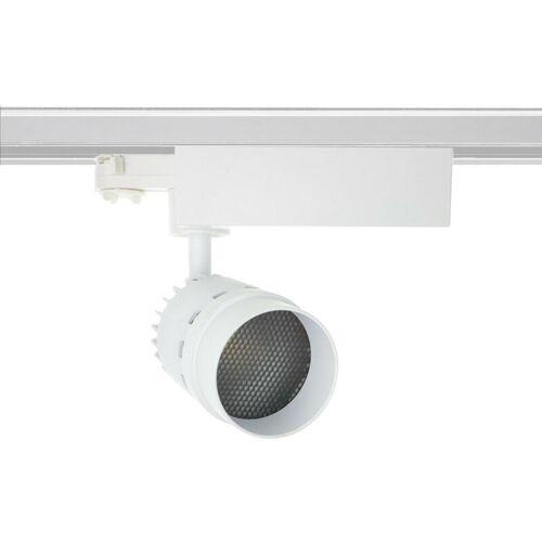 LEDKIA LED-Strahler CREE Cannon Weiss 20W für 3-Phasenstromschienen (UGR 19)