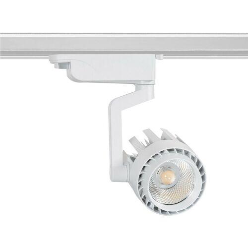 LEDKIA LED Strahler Dora 30W in Weiss für 1-Phasen-Stromschienen Neutrales