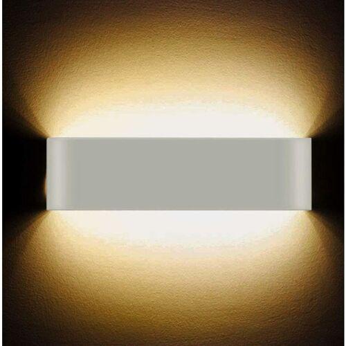 STOEX LED Wandleuchte 12W Hoch Hell Moderne Wandleuchte Innen Wandleuchte für