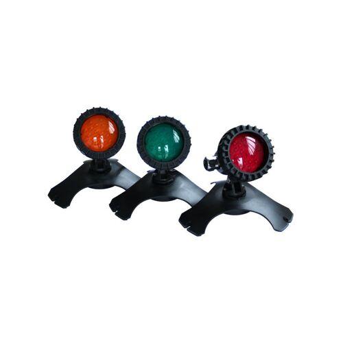 Mauk LED Teichbeleuchtung Leuchten Set 3 teilig - 3 x 1,5 W, 21 LED's,