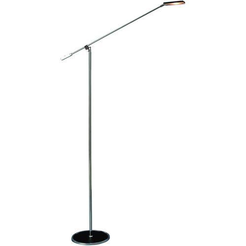 11-ITALUX Moderne Stehlampe Tiziana Schwarz