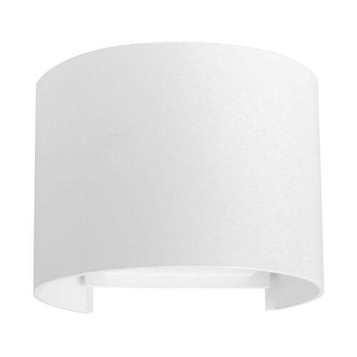 Stoex - Moderne weiß LED Wandleuchte Postmoderne Halbkreis Wandleuchte