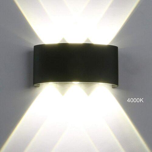 STOEX Modernes LED Wandleuchte Up und Down Wandleuchte Einfach Wandleuchte